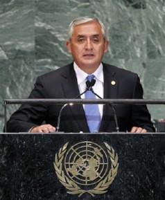 Президентът на Гватемала призова ООН за реформи