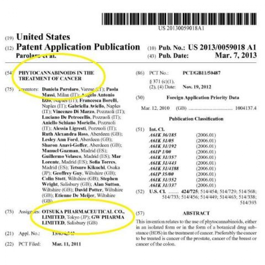 Patent Application Publication